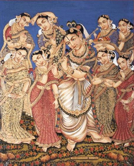 Astabharya - eight wives of Lord Krishna