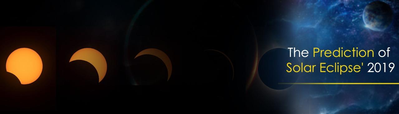 The Prediction of Solar Eclipse 2021