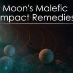 Moon's Malefic Impact Remedies